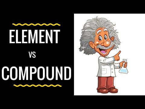 Element Vs Compound