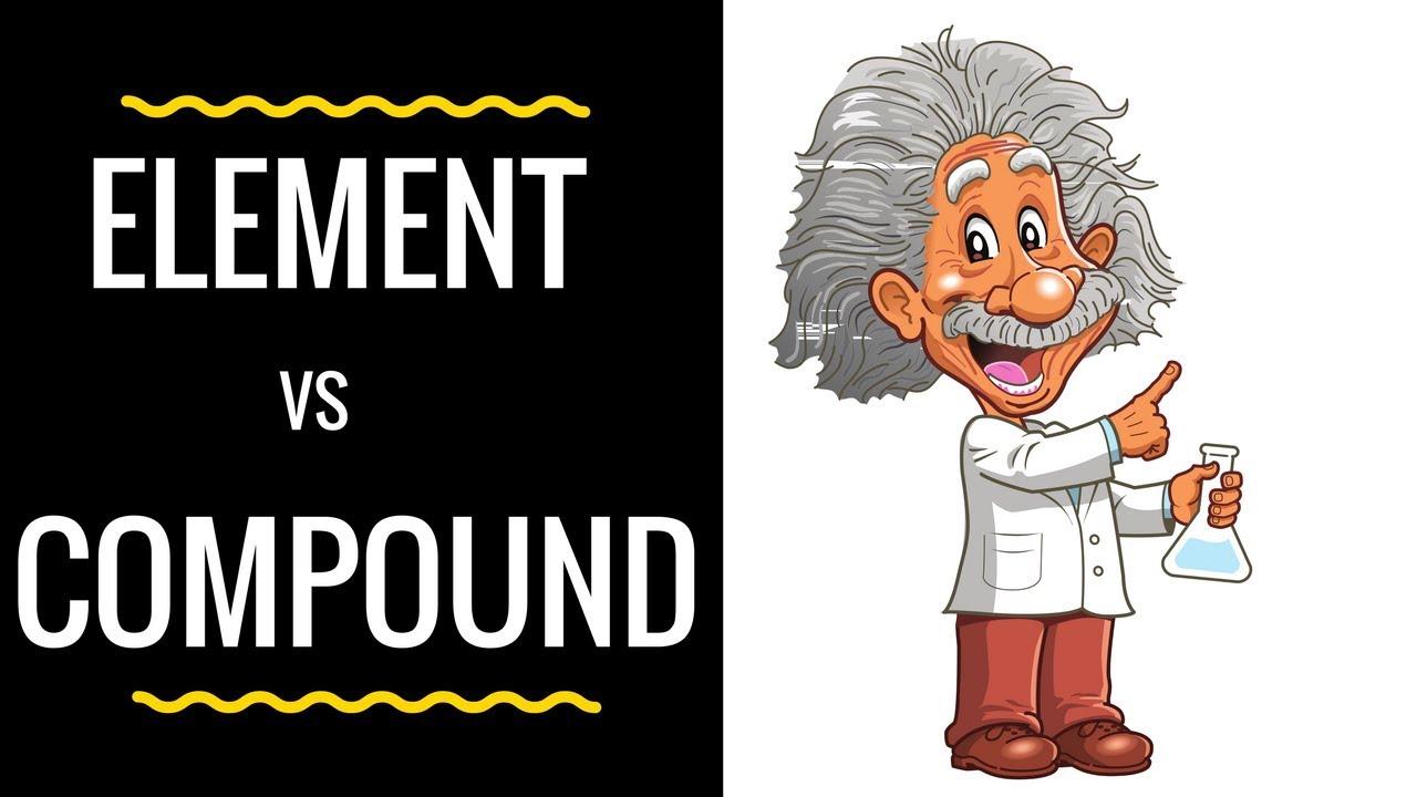 medium resolution of Element vs Compound - YouTube