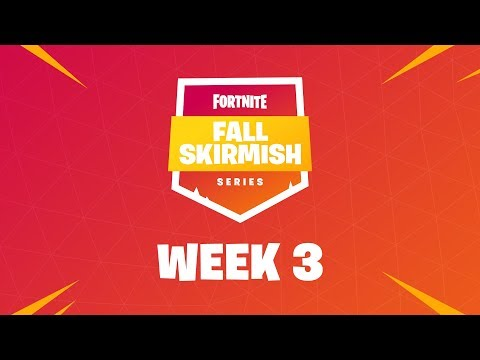 Fortnite #FallSkirmish - Week 3 | Kingpin (DUOS)