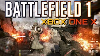 Battlefield 1 Xbox One X Multiplayer Gameplay (60 fps)
