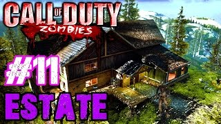 THE MOST OP GUNS EVER!▐ Custom Zombies on Estate Part 1