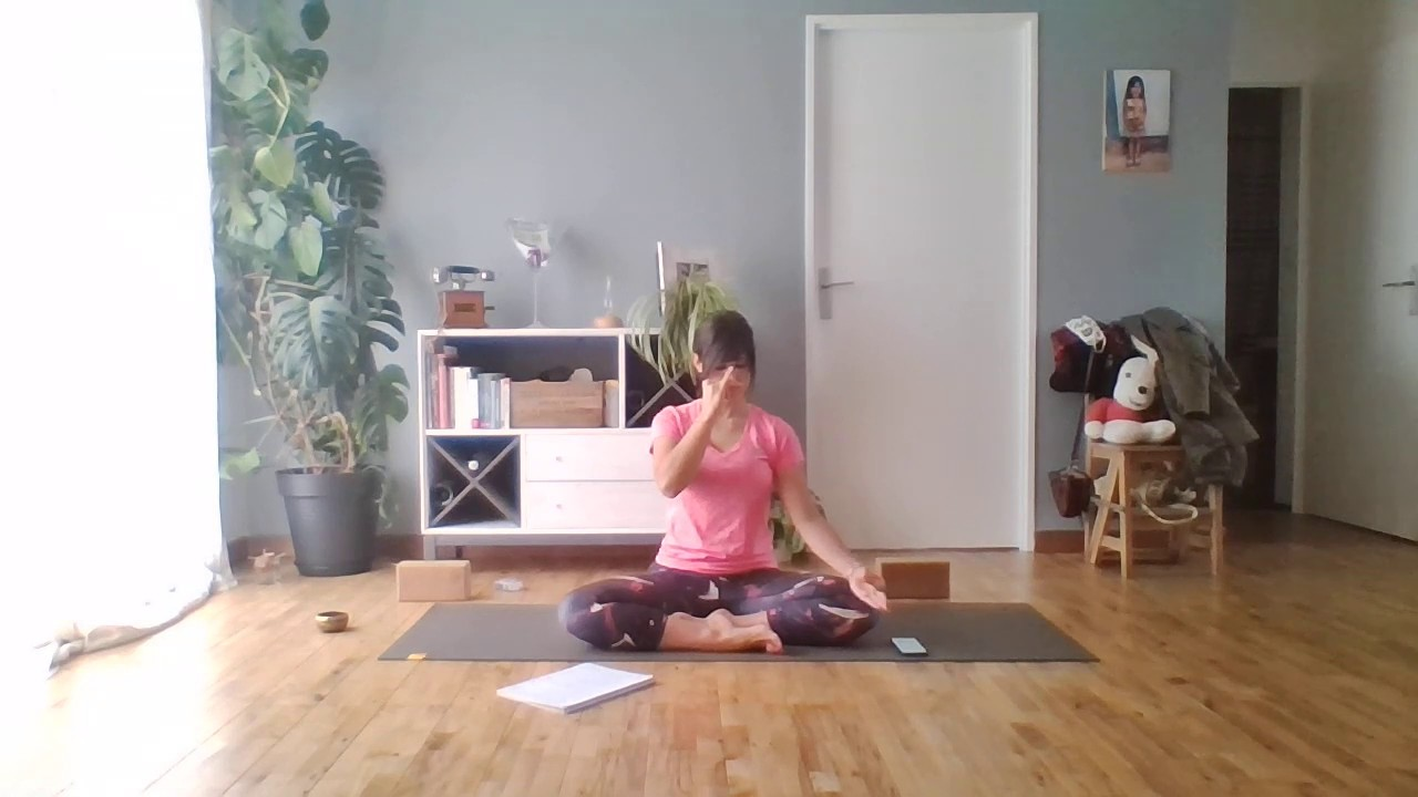 Respiration Alternee Pranayama Nadi Shodhana Anuloma Viloma Youtube