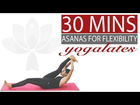 Yoga Asana Practice Intermediate Workout Yogalates With Rashmi Youtube