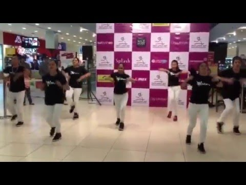 02/10/15 - Qatar All Stars at Centerpoint Mall for Qatar National Sports Day Celebration