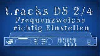 T.Racks DS 2/4 Controller Einstellen - kurz erklärt