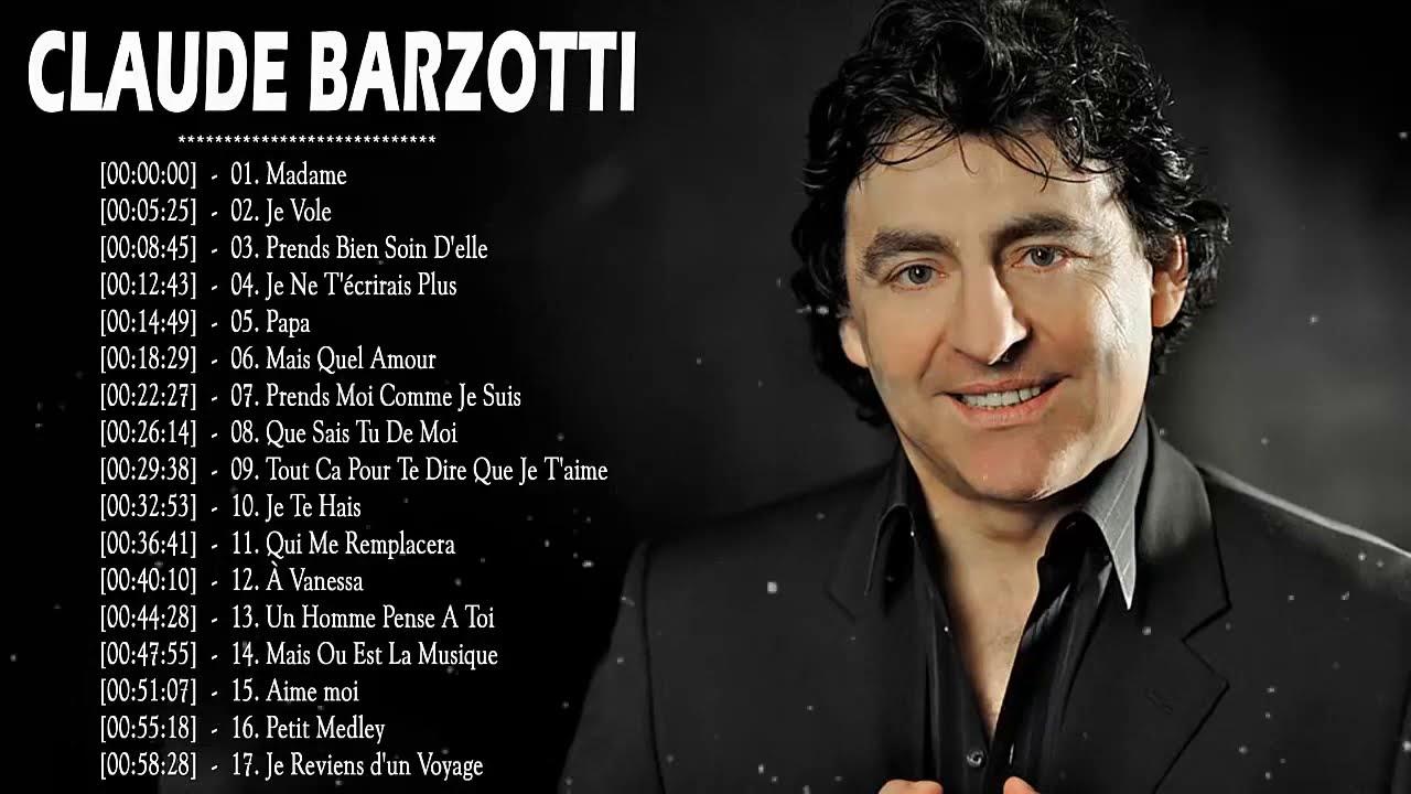 Claude Barzotti Album Complet ♥♥ Best of Claude Barzotti 2019 ♥♥ Claude Barzotti Greatest Hits