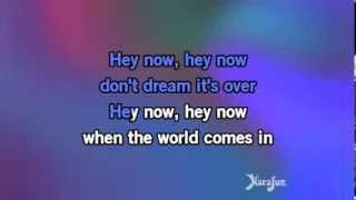 Karaoke Don t Dream It s Over Crowded House