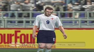 PES 5 | England vs Spain Full Match Gameplay HD 60FPS