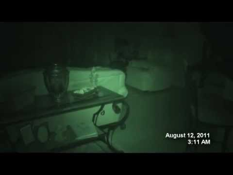 Real Poltergeist - Ghost Activity Caught on Camera