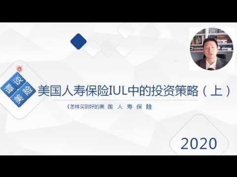 美國保險IUL中的投資策略(上) ||《怎樣買到好的美國人壽保險IUL產品?》系列知識分享【譚談美險】 - YouTube