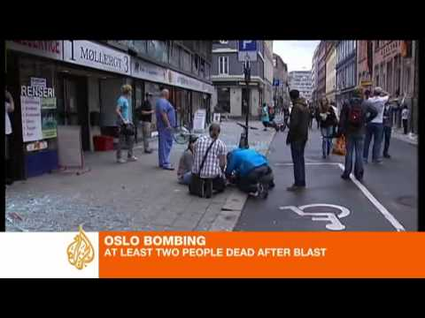 Oslo blast hits PM's office