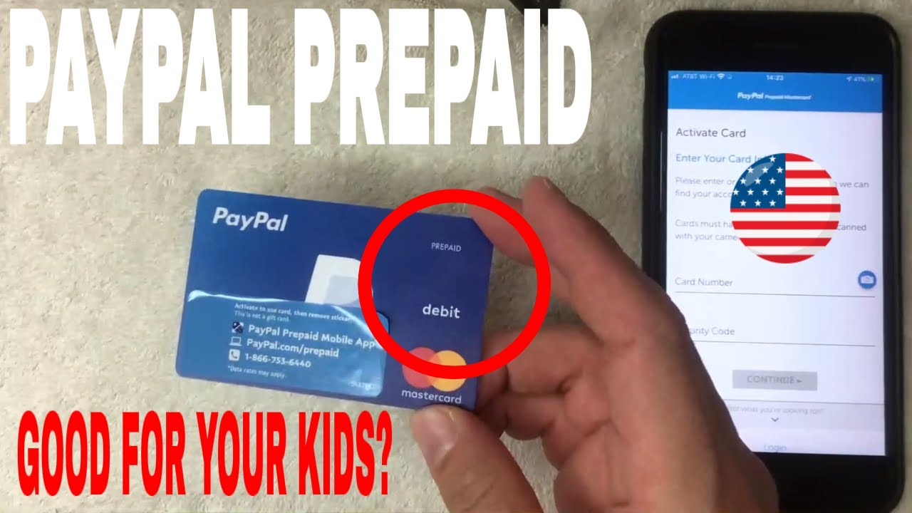 ✅ Is Paypal Prepaid Debit Mastercard Good For Your Minor Kids Under 6 🔴