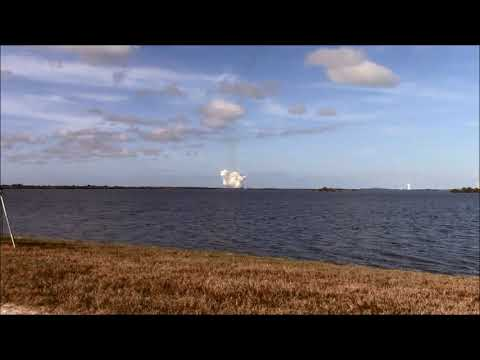Amateur Video of Falcon Heavy Launch and Landing