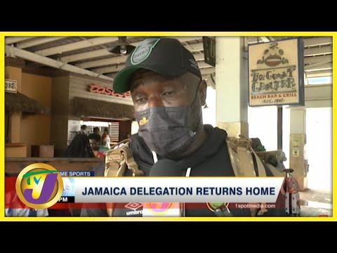 Reggae Boyz Back in Jamaica - July 27 2021