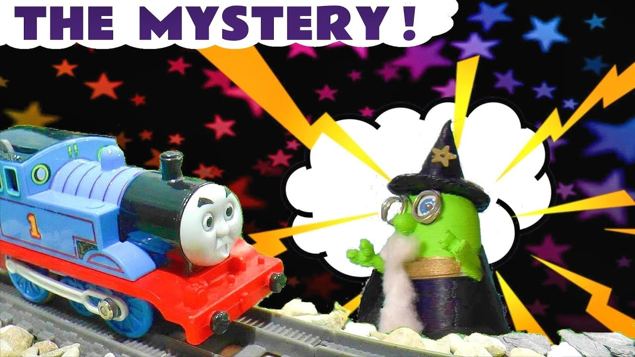 MYSTERY Thomas and Friends Toy Trains Story with Wizard Funling