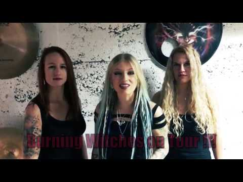 BURNING WITCHES – The Tour Of The Living Dead (OFFICIAL TRAILER) Mp3