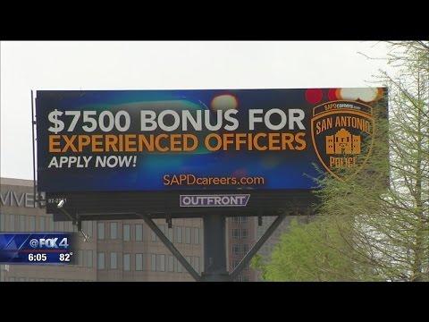 San Antonio PD recruting Dallas PD officers