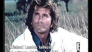Tribute to Michael Landon Part 1.  Homenaje a Michael Landon Parte 1. Subtítulos en Español.