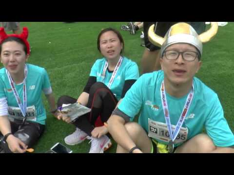 Jerusalem Marathon 2017 Chinese Athletes
