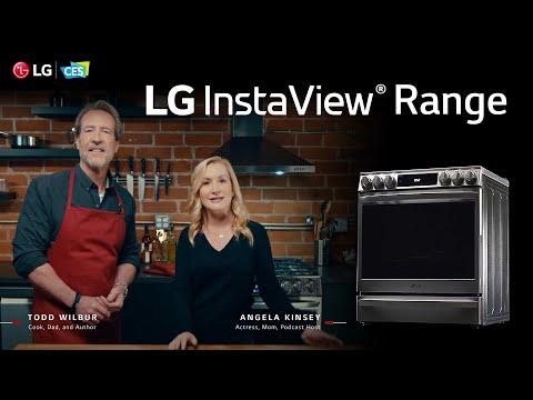 [LG at CES2021] LG InstaView Range - Todd Wilbur & Angela Kinsey