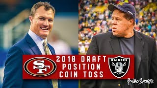 Live! 49ers Fans Reaction To 49ers VS Raiders NFL Draft Coin Toss