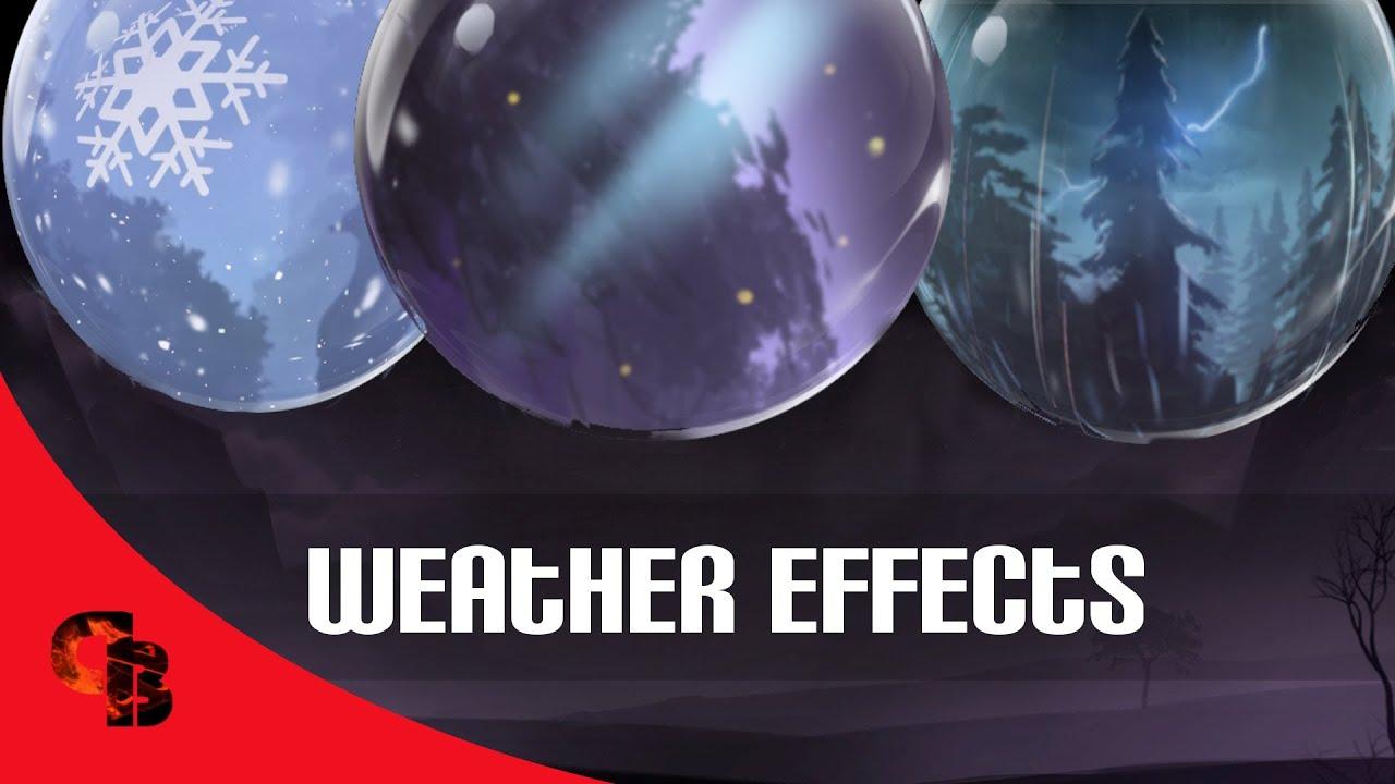 dota 2 store compendium weather effects weather rain