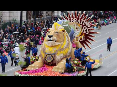 ROSE PARADE 2017 Annual 128th