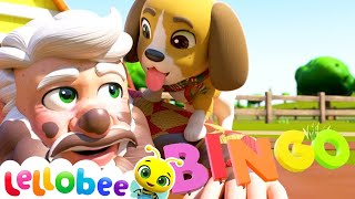 BINGO - Puppy Song | Brand New Nursery Rhymes & Kids Songs | ABCs and 123s | Little Baby Bum