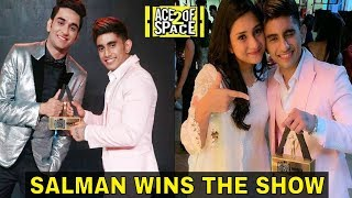 Salman Zaidi Wins MTV Ace Of Space 2 Title Salman Has Won The Trophy Of Ace Of Space Season 2
