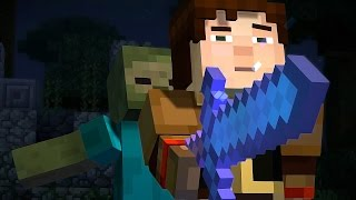 ► Minecraft: Story Mode - Episode 5: Order Up - The Movie (All Cutscenes HD)