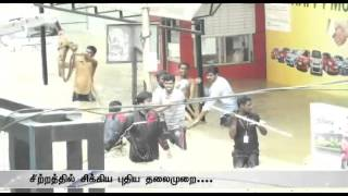 Chennai Rains: Puthiya Thalaimurai TV affected in Adyar flood spl tamil hot video news 05-12-2015