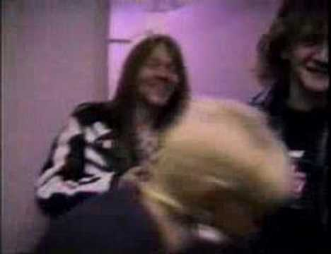 Guns N' Roses – Backstage