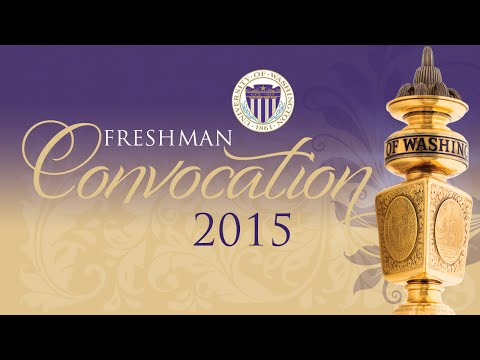 2015 UW Freshman Convocation