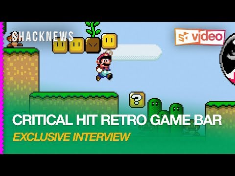 Critical Hit Retro Video Game Bar Interview in Nagoya Japan