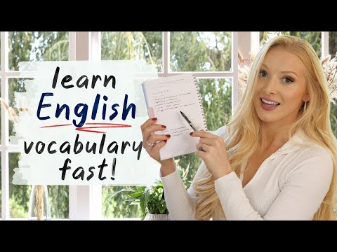 How to learn and remember English vocabulary