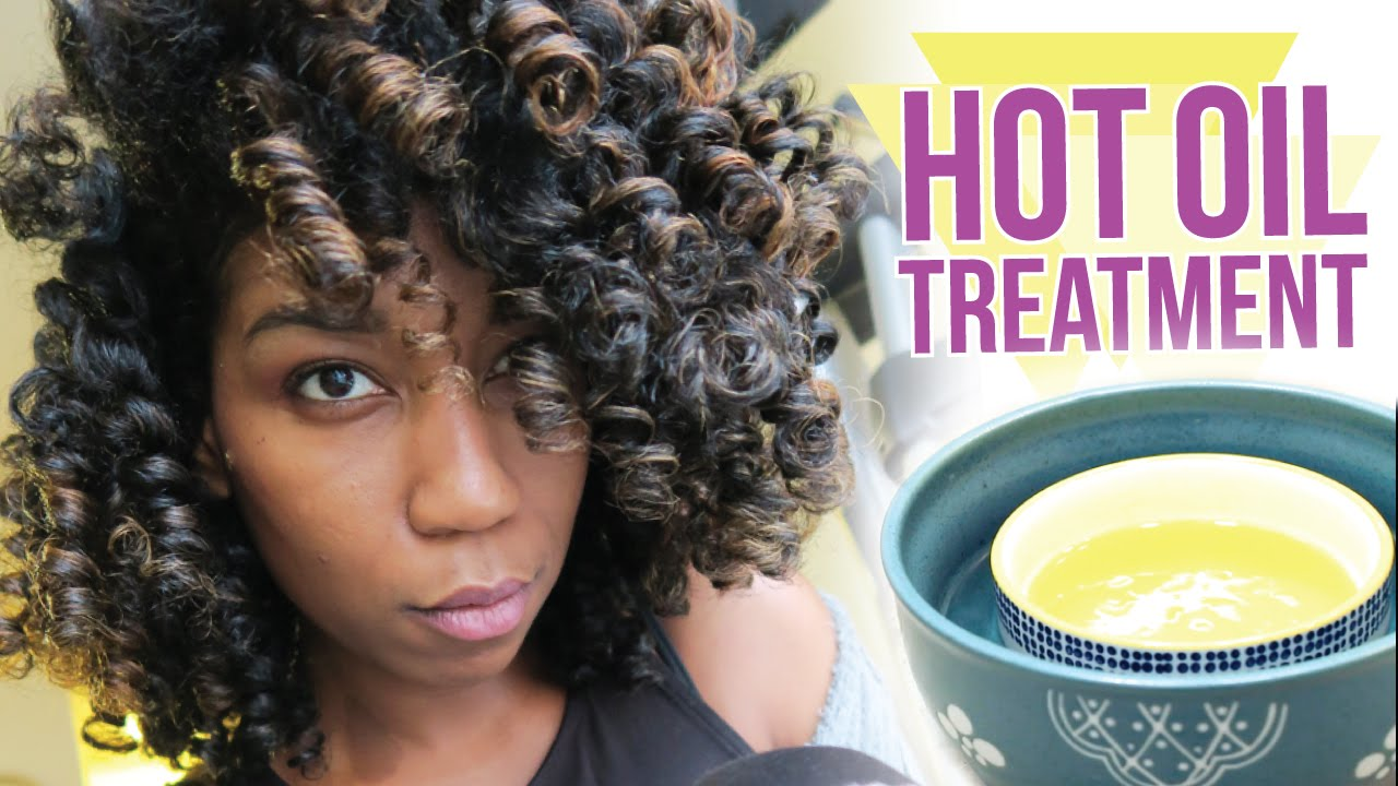 35-Blend Hot Oil Treatment for Softness, Moisture and Shine in