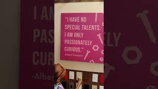 Albert Einstein Quotes at the Minnesota Children's Museum