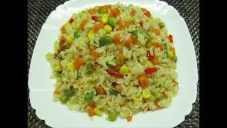 Рис с овощами. Rice With Vegetables