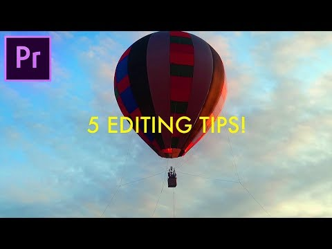 5 Adobe Premiere Pro CC Video Editing Tricks you might NOT Know!