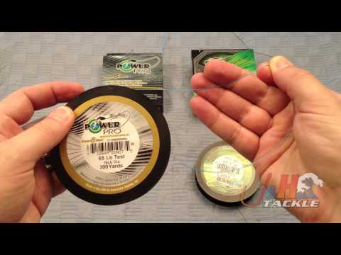 Differences Between Power Pro And Power Pro Super Slick Braided Fishing Line