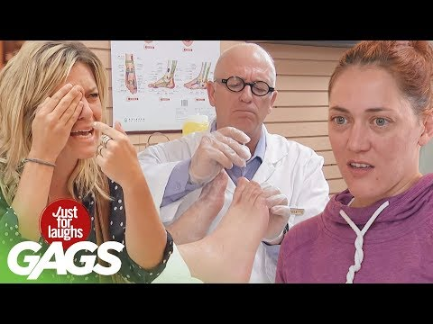 Scared Puppies, Magic Boxes, & Acupuncture Gone Wrong | JFL Throwback Pranks