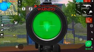 Awm Sniping in Free Fire -Garena Free Fire