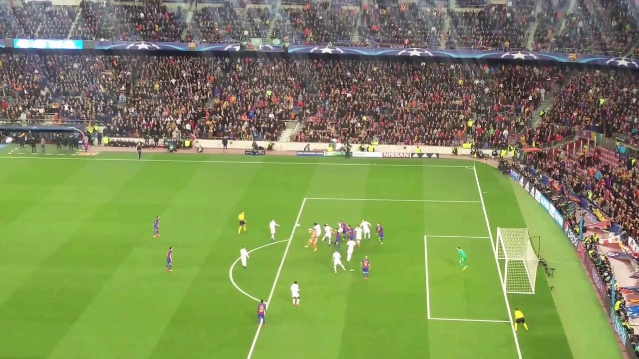 Remontada Fc Barcelona vs Psg Neymar Free Kick