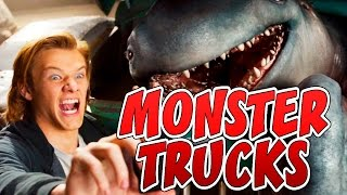 👾 How to draw MONSTER from movie Monster trucks 2017