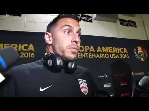 USA 1-0 Paraguay Post-game Geoff Cameron