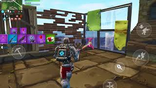 You can now repair structures in fortnite mobile!! GIVEAWAY happening very soon!!