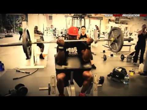 Motivação Bodybuilder O ginásio é meu tudo