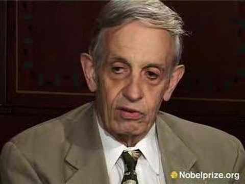 Dr. John Nash explains why the Nobel Prize impacted his life more than most other laureates