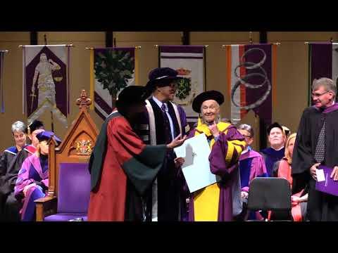 Western University Convocation, April 25, 2018 - Jane Goodall