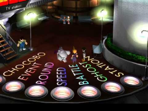 Final Fantasy VII - Meeting Cait Sith